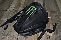 Мотосумка - поясничный упор на хвост мотоцикла (скутера) съёмная Мonster Energy  30х25х20