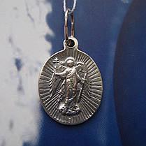 Серебряная подвеска-ладанка Святая Ирина, фото 3