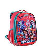 """Рюкзак шкільний каркасний ортопедичний для дівчинки H-25 """"Enchantimals"""", YES, фото 1"""