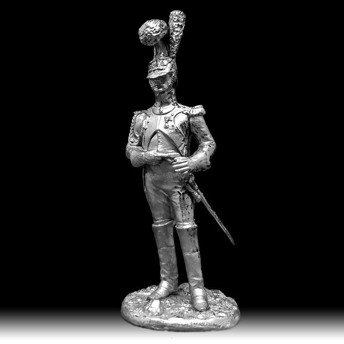 Офицер гвардейских инженеров, 1812 год