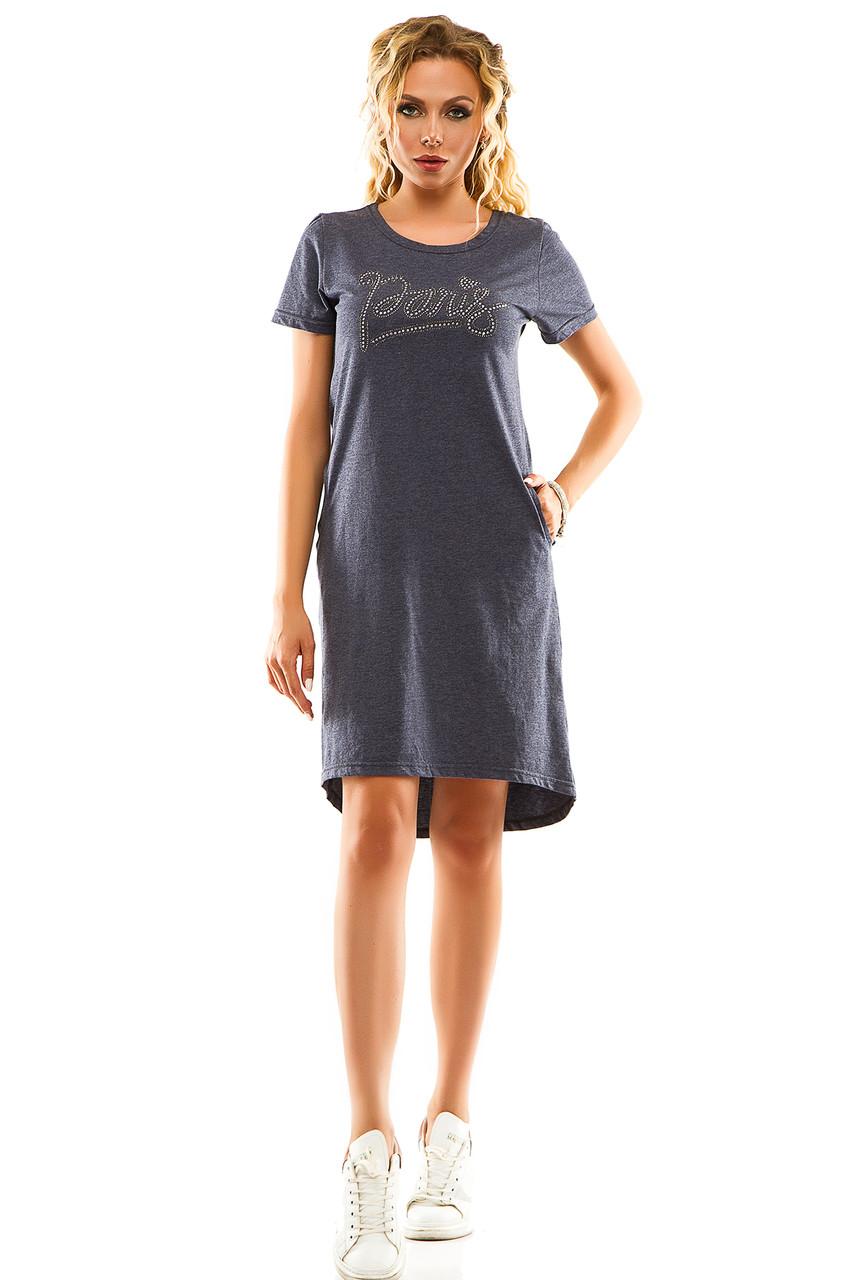 Платье 004 джинс
