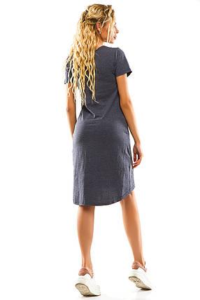 Платье 004 джинс, фото 2