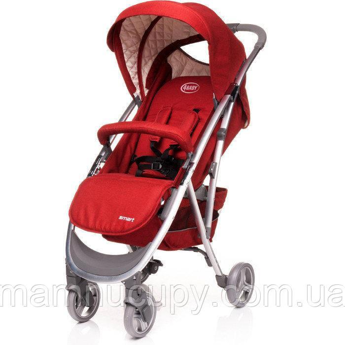 Детская коляска прогулочная 4baby Smart Red