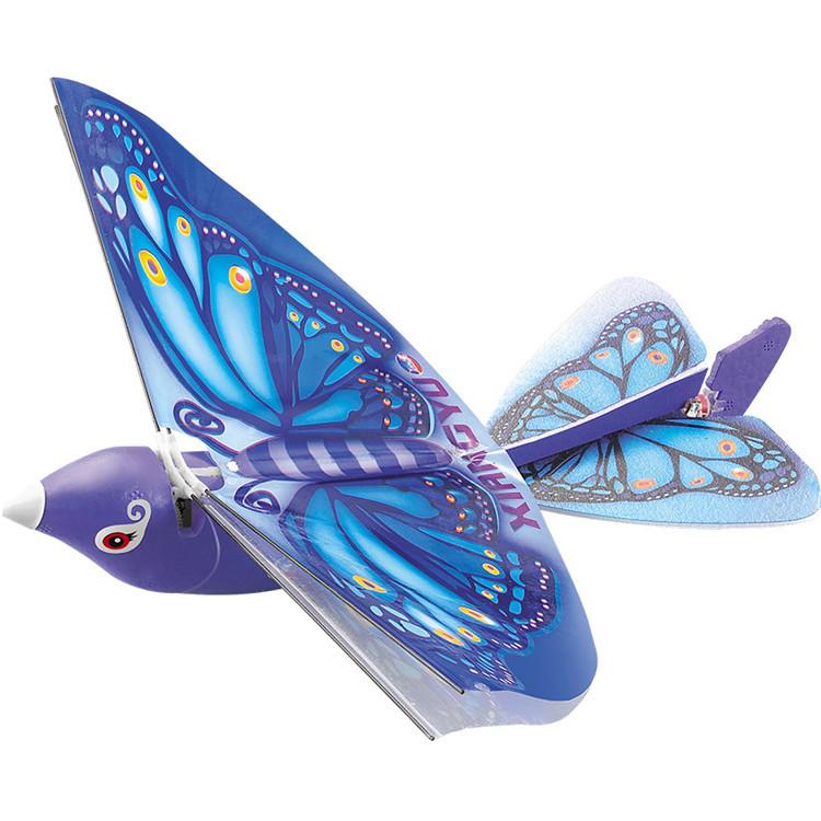 Радіокерована іграшка XIANGYU Easy Flyer літаюча пташка на р/к Синій (SUN4553)