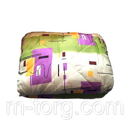 Одеяло шерстяное двуспальное 175/215, ткань поликоттон, фото 2