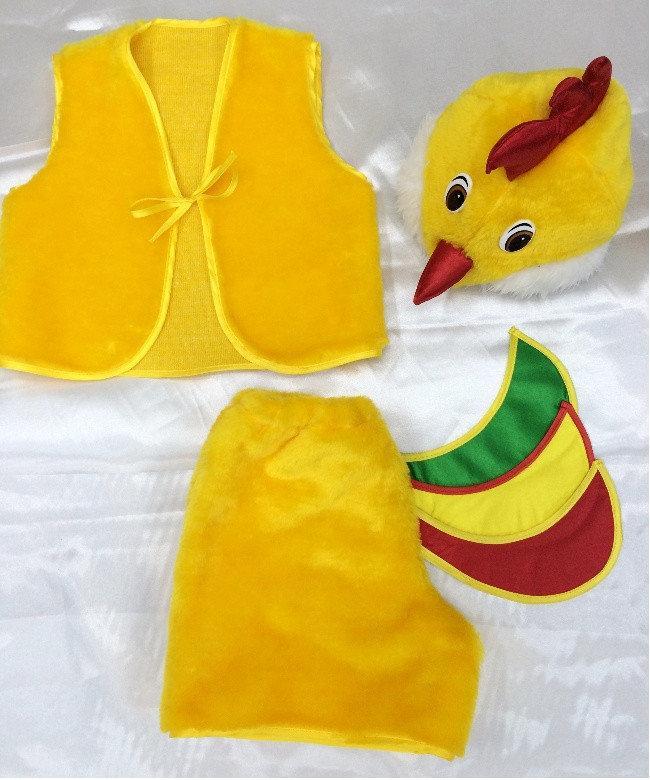 Детский карнавальный костюм Bonita Петушок № 1 105 - 120 см Желтый