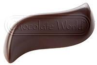 """Форма для шоколаду Chocolate World """"хвиля"""" 2і штука 7мл 5х2,5 см h1,5 см полікарбонат (1848 CW)"""