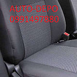 Авточехлы Фольксваген Крафтер Volkswagen Crafter 1+2 2006- Nika, фото 2