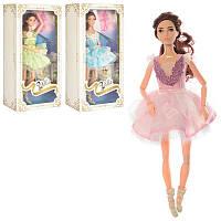Кукла 30см, шарнирная, балерина, 3 цвета, PS1808-2-3-4