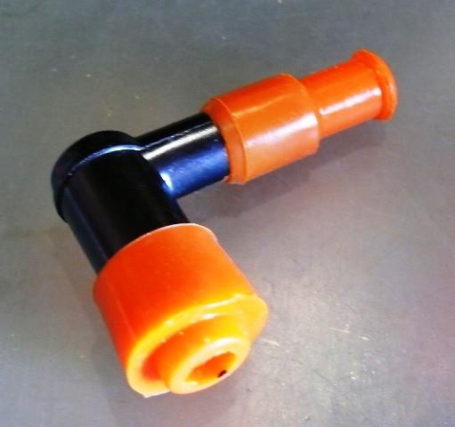 Надсвечник DELTA c силіконовою резинкою (помаранчевий)