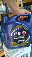Elf Evolution Full-tech FE 5w-30 5л  ОРИГИНАЛ