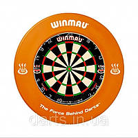 Фирменный набор дартс Winmau Англия (мишень сизаль + защита + дротики)