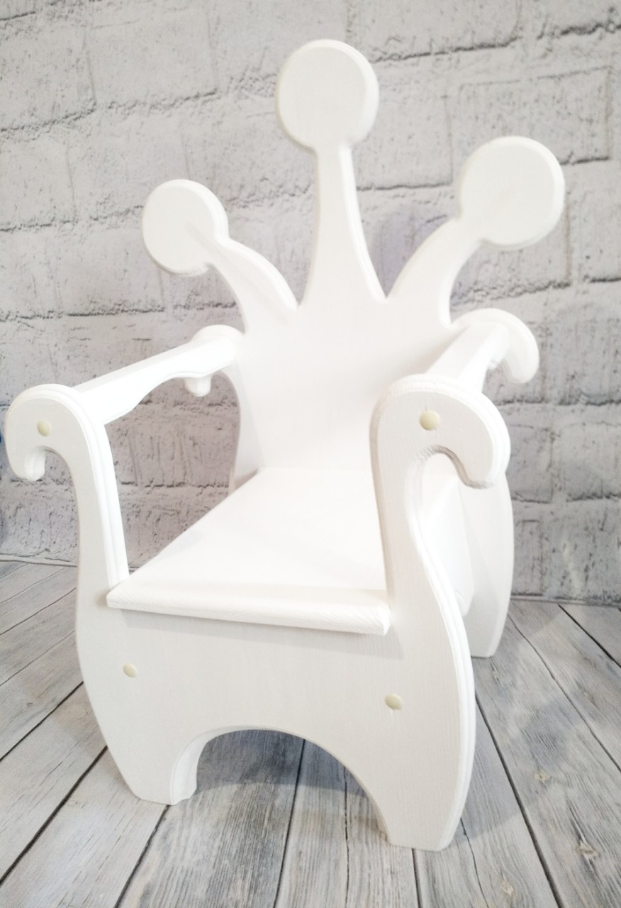 Трон, стульчик для фотозоны  в аренду