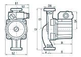 Циркуляционный насос Sprut LRS 25-6S-130 122145, фото 4