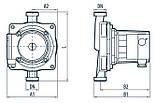 Циркуляционный насос Насосы+Оборудование BPS 20-12S 122015, фото 4