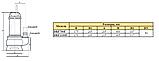 Дренажно-фекальный насос Rudes DRF 750F 9295, фото 4