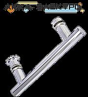 Ручка для дверей душевой кабины на два отверстия ( H-644 ) Метал