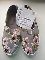 ESMARA ® Женская обувь слипоны,кеды,еспадрильи 37-23.5 см