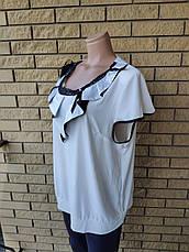Блузка женская больших размеров KIFAYET, фото 3