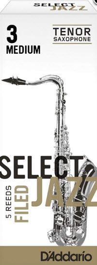D`ADDARIO RSF05TSX3M Select Jazz - Tenor Sax Filed 3M - 5 Box Трости 5шт для тенор саксофона