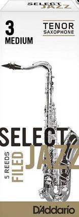 D`ADDARIO RSF05TSX3S Select Jazz - Tenor Sax Filed 3S - 5 Box Трости 5шт для тенор саксофона, фото 2