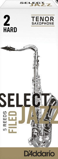 D`ADDARIO RSF05TSX2S Select Jazz - Tenor Sax Filed 2S - 5 Box Трости 5штдля тенор саксофона