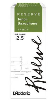 D`ADDARIO Reserve - Tenor Sax 2.5 - 5 Box Трости 5шт для тенор саксофона, фото 2