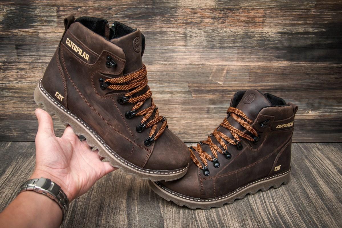 b08ae3acd Зимние мужские кожаные ботинки Caterpillar. Харьков: продажа, цена в ...