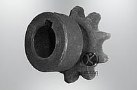 Звездочка z-10 d-25 t-19.05 (ЗМ-60, ЗМ-60А) ЗП 07.608 (запчасти на зернометатель зм-60,60А)