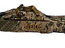Чохол напівжорсткий Weida (Kaida) 150 см 3 відсіку камуфляж, фото 3