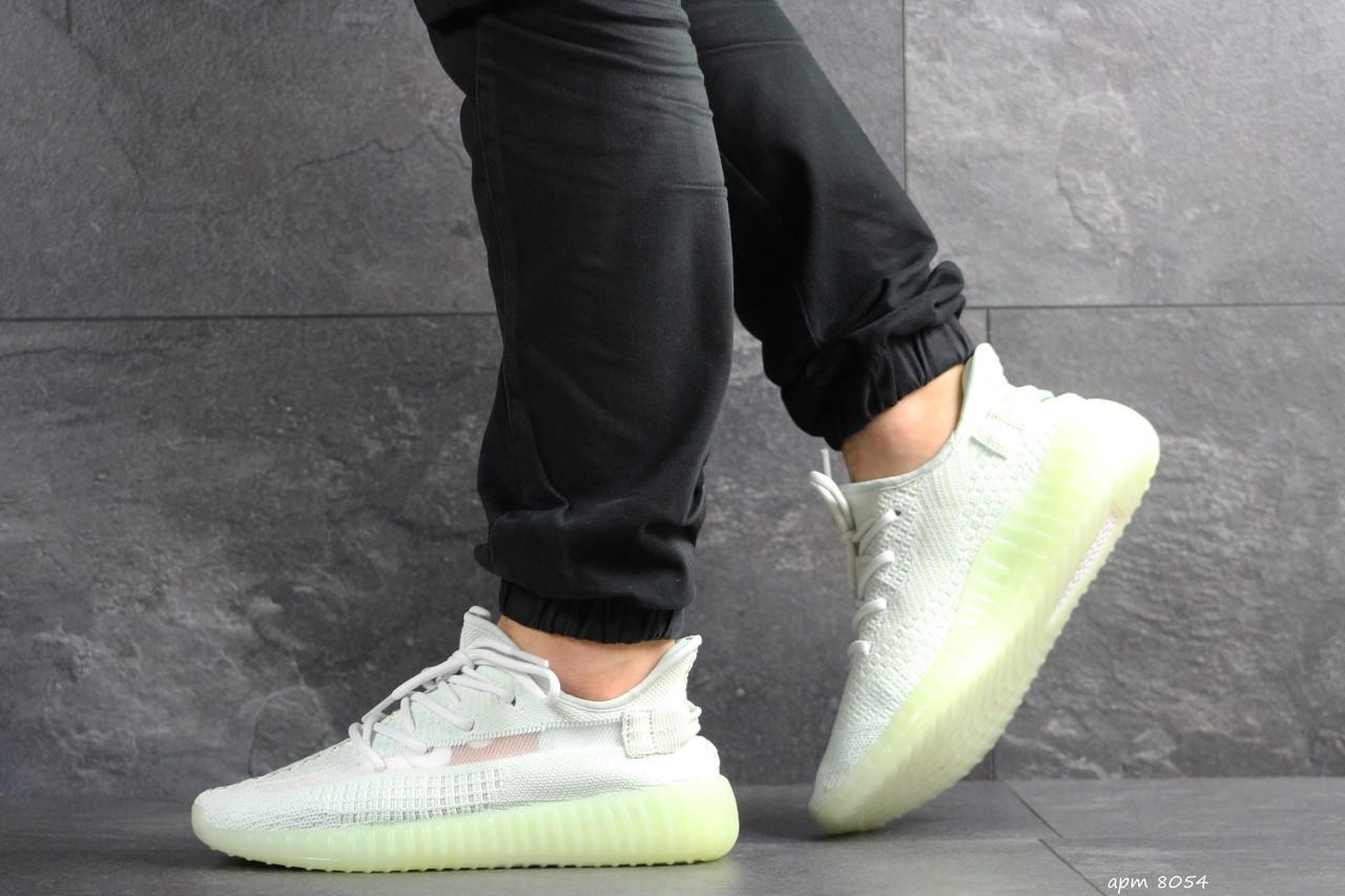 Модные кроссовки Adidas x Yeezy Boost 350 v2,мятные