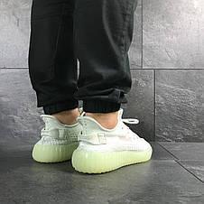 Модные кроссовки Adidas x Yeezy Boost 350 v2,мятные, фото 3