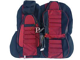 """Авточехлы  Chevrolet Lacetti sd 2002- """"Пилот"""" (красные) - Авточехлы для сидений (комплект) Шевроле"""