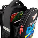 Рюкзак школьный каркасный Kite Education Hot Wheels HW19-531, фото 5