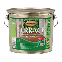 Масло для террас Эскаро(Eskaro Aura Terrace) 9 л