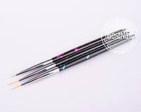 Кисти набором ART Brush (3 шт)