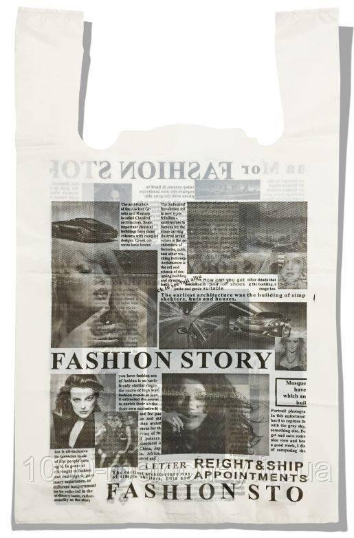 "Пакет-майка ""Газета"" Comserv 45 кг (35×57) 100 шт"
