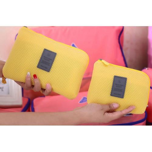Органайзер дорожный для гаджетов Monopoly Cable Pouch (желтый)
