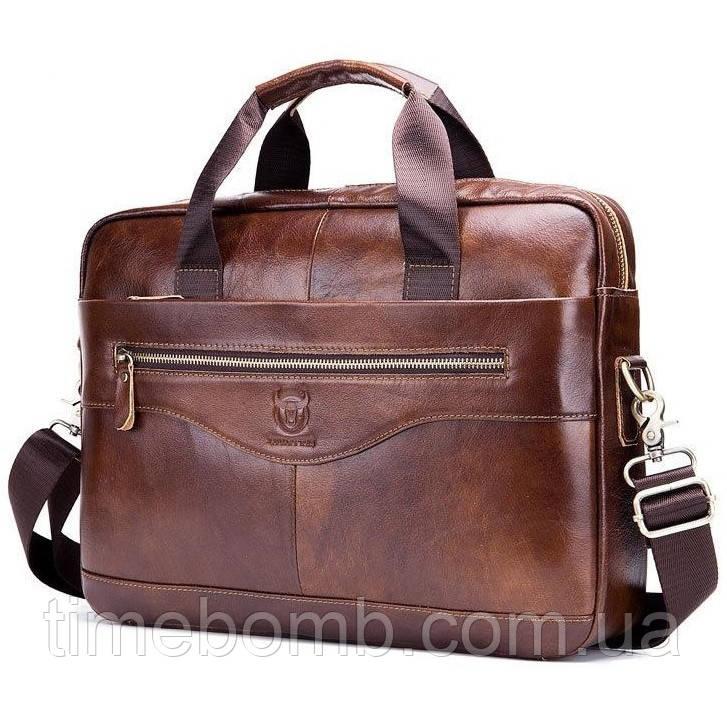 f63b18bbf343 Мужской кожаный портфель BullCaptain большой коричневый: продажа, цена в  Черкассах. ...