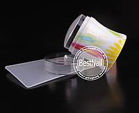 Штамп для стемпинга силиконовый  (прозрачный)