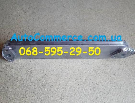 Радиатор масляный теплообменник БАЗ А148, фото 2