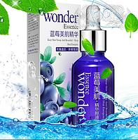 Сыворотка - праймер с гиалуроновой кислотой Bioaqua Wonder essence с экстрактом черники оригинал, фото 1