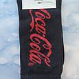Носки Мужские в стиле Coca Cola черные размер 41-45, фото 2
