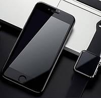 Защитное 3D стекло для iPhone 8 black / 7  / 3Д стекло на афон 7/8 черное  противоударное , фото 1