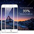 Защитное 3D стекло для iPhone 8 black / 7  / 3Д стекло на афон 7/8 черное  противоударное, фото 7