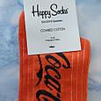 Носки Мужские в стиле Coca Cola оранжевые размер 41-45, фото 2