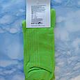 Носки Мужские в стиле Coca Cola салатовые размер 41-45, фото 3