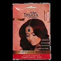 Фарба для волосся природна, хна. Вишня. Триюга. 25 грамм  (Triuga Herbal)