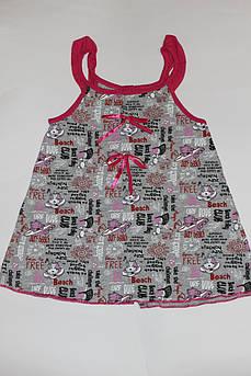 Летнее платье халат для девочки 4 - 5 лет