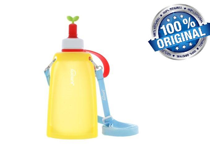 Силиконовая бутылка для воды Джумони, желтый